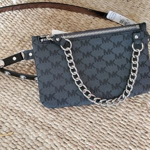 Michael Kors Belt Bag with Chain